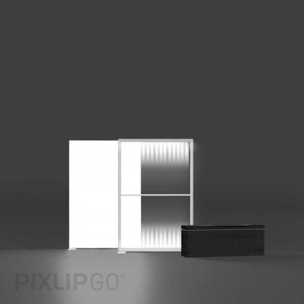 PIXLIP GO | Lightbox 100 cm x 150 cm indoor | beidseitig