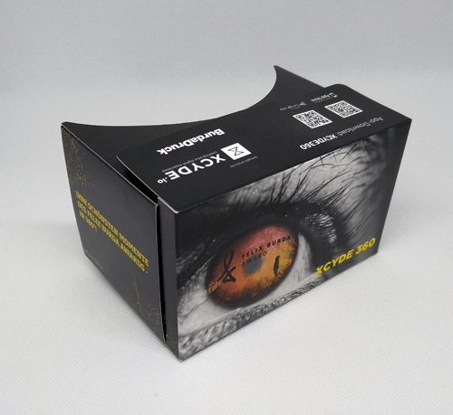 VR Cardboard   bedruckt